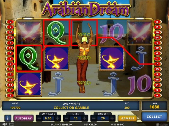 Arabian Dream by No Deposit Casino Guide