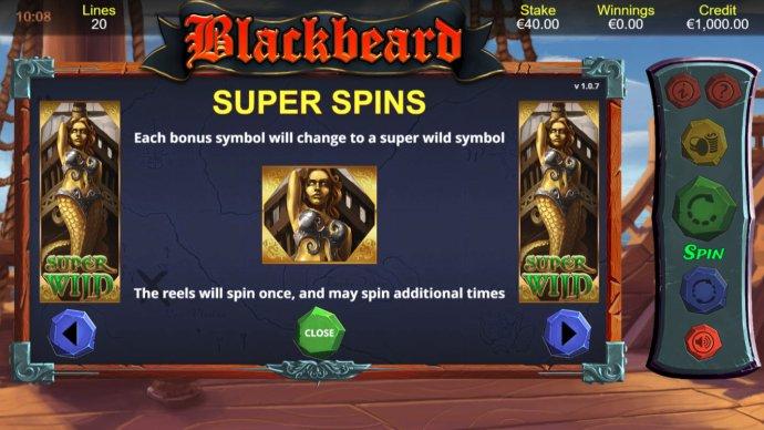 No Deposit Casino Guide image of Blackbeard