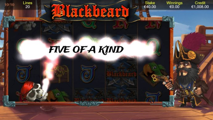 Blackbeard by No Deposit Casino Guide