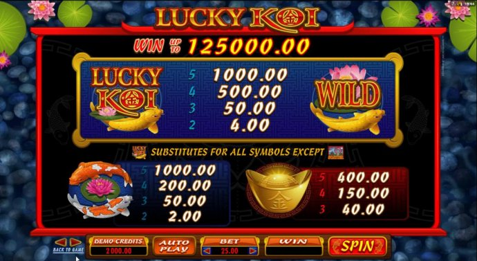 Images of Lucky Koi