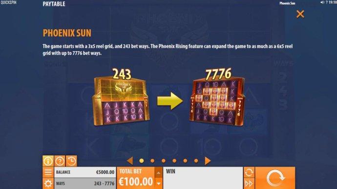 Phoenix Sun screenshot