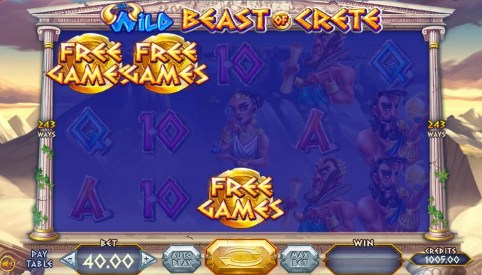 Wild Beast of Crete by No Deposit Casino Guide