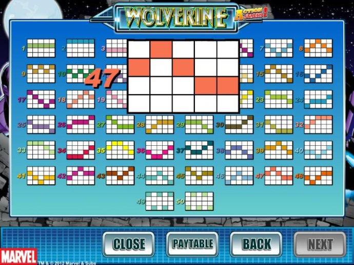 payline diagrams - No Deposit Casino Guide