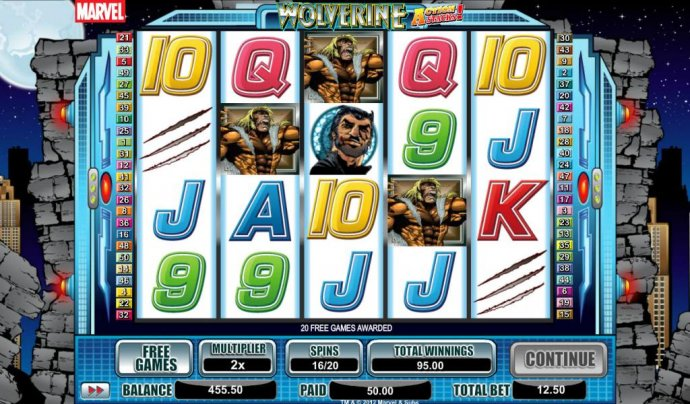 free games can be retriggered during free games feature by No Deposit Casino Guide