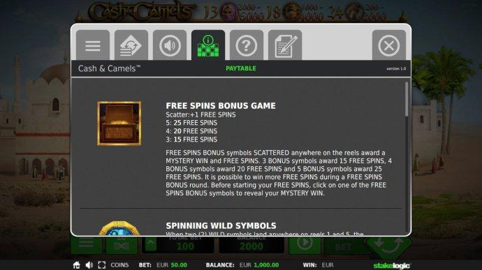 Cash & Camels screenshot