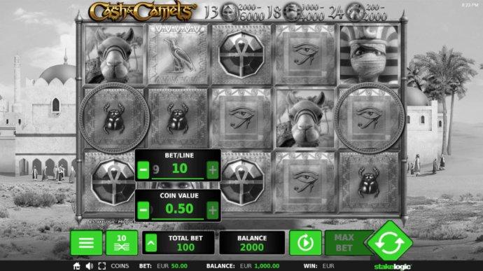 No Deposit Casino Guide image of Cash & Camels