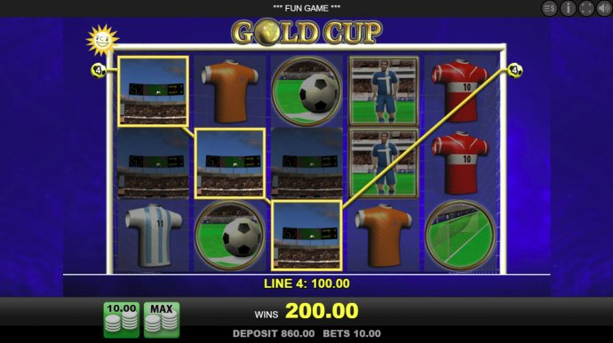 No Deposit Casino Guide image of Gold Cup