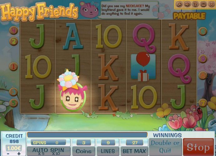 No Deposit Casino Guide - Finding the necklace triggers free spins feature.