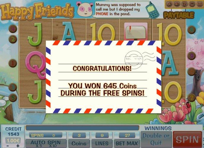 Happy Friends screenshot