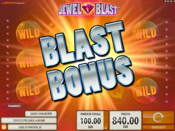 Blast Bonus triggered - No Deposit Casino Guide