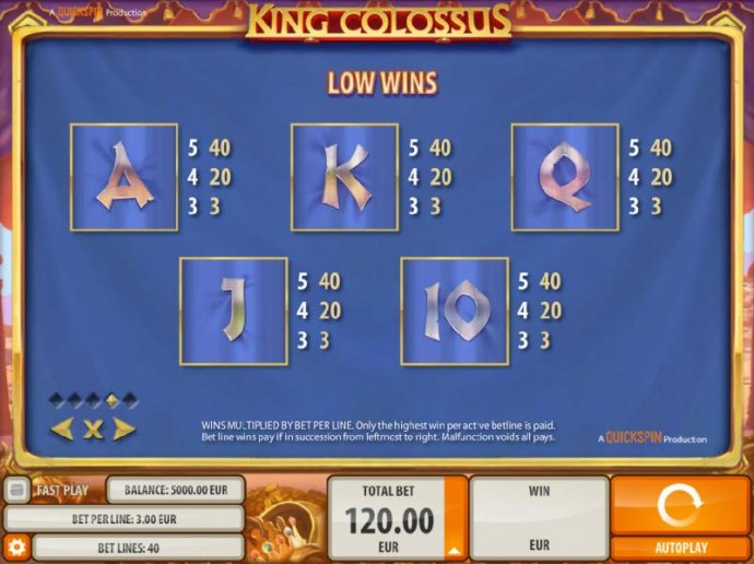 King Colossus by No Deposit Casino Guide