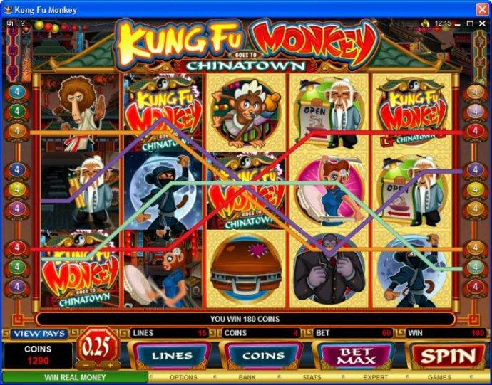 No Deposit Casino Guide image of Kung Fu Monkey