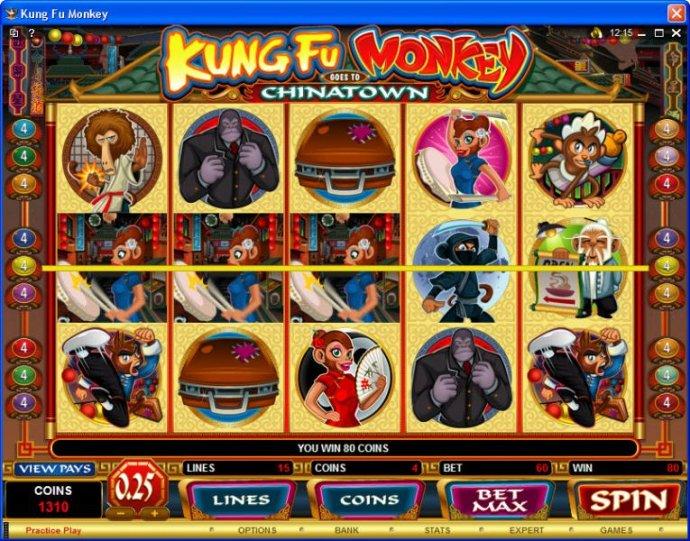 Kung Fu Monkey screenshot