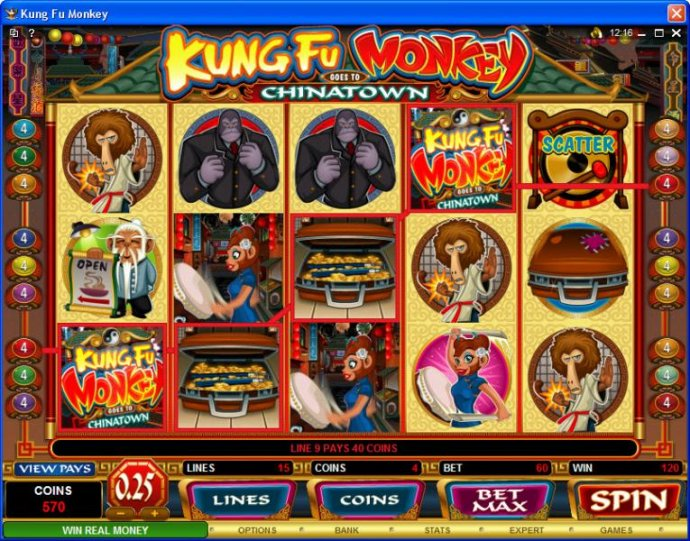 No Deposit Casino Guide image of Kung Fu Monkey
