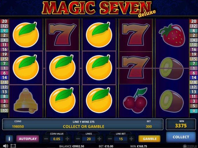 Magic Seven Deluxe screenshot