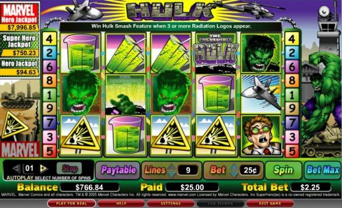 No Deposit Casino Guide image of The Hulk