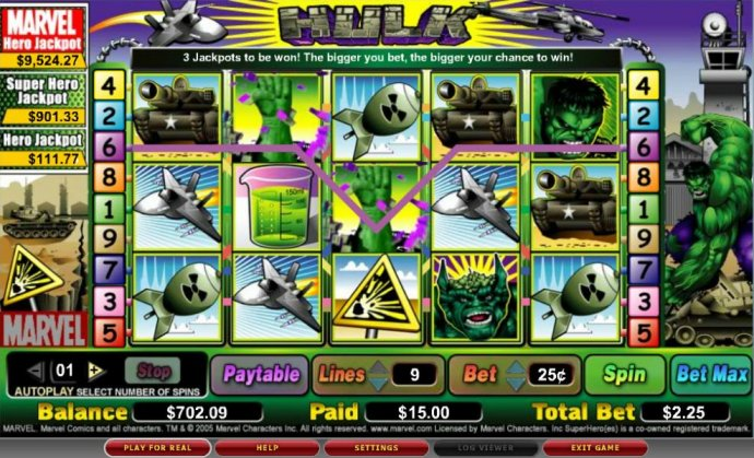 The Hulk by No Deposit Casino Guide