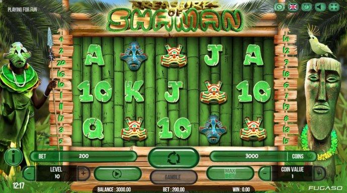 No Deposit Casino Guide image of Treasure of Shaman