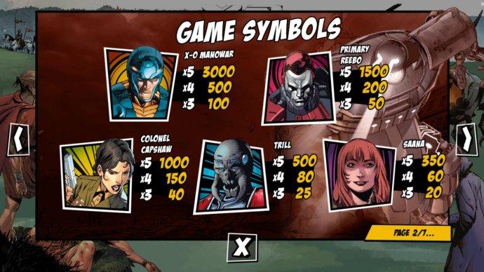 Images of X-O Manowar