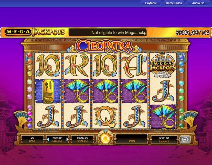 Cleopatra - Mega Jackpots screenshot