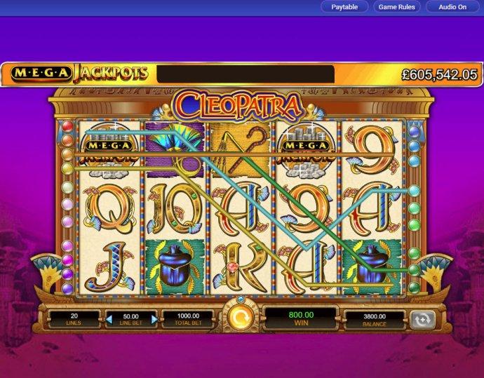 Cleopatra - Mega Jackpots by No Deposit Casino Guide