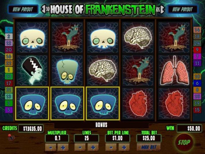 Three Bull Skull symbols tiggers bonus game - No Deposit Casino Guide
