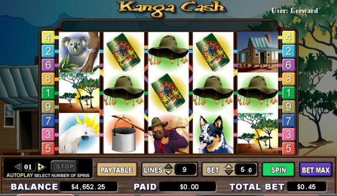 No Deposit Casino Guide image of Kanga Cash