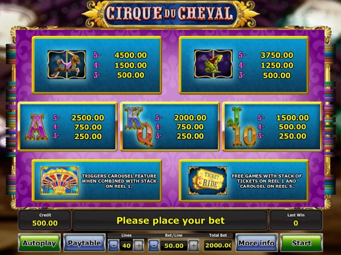 Cirque du Cheval screenshot