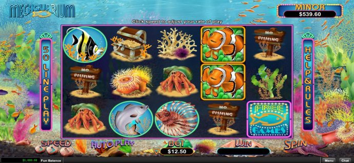Megaquarium by No Deposit Casino Guide