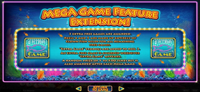 Mega Game Feature Extension Rules by No Deposit Casino Guide