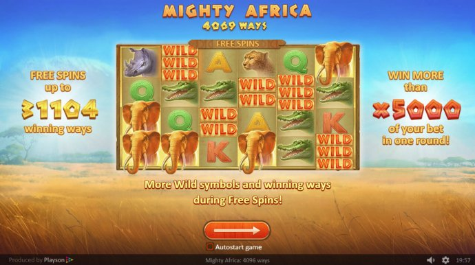 Mighty Africa screenshot