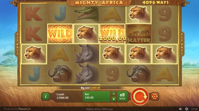 No Deposit Casino Guide image of Mighty Africa