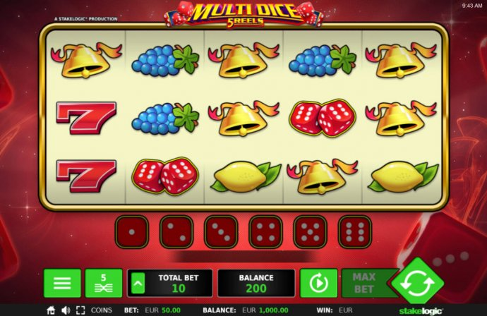 Multi Dice 5 Reels by No Deposit Casino Guide