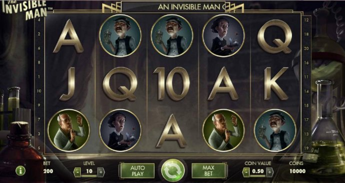 The Invisible Man by No Deposit Casino Guide