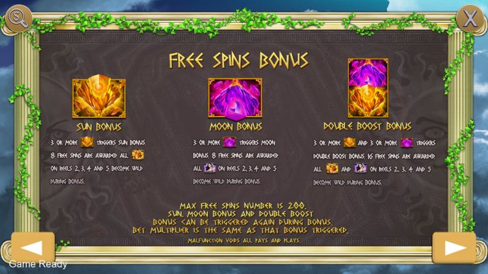 No Deposit Casino Guide image of God of Twilight