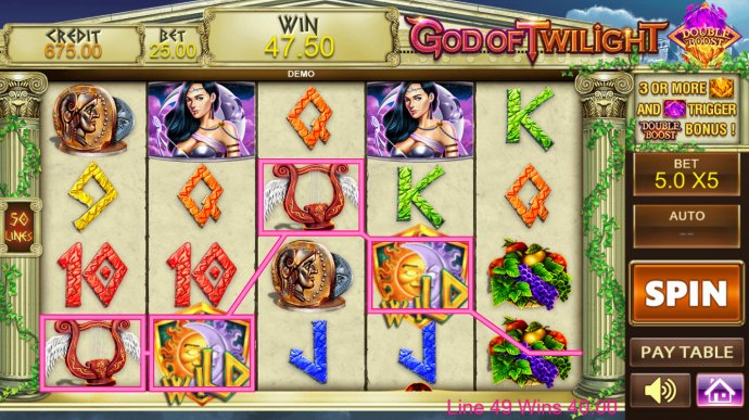 A winning four of a kind by No Deposit Casino Guide