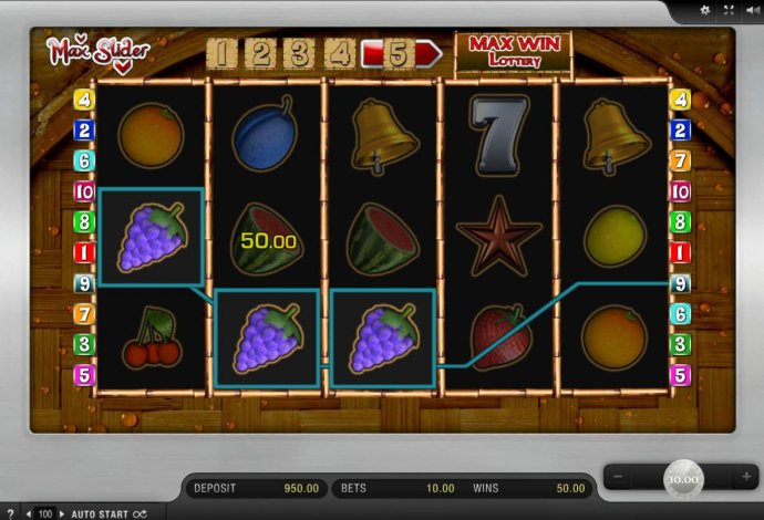 Max Slider by No Deposit Casino Guide