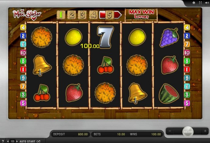 A Four of a Kind triggers a 100.00 payout. All winning symbols are removed and replaced with new icons for an added chance at more wins - No Deposit Casino Guide