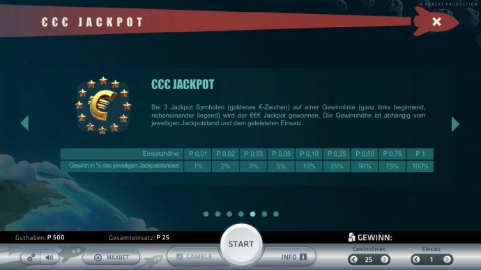 No Deposit Casino Guide image of Space Adventure
