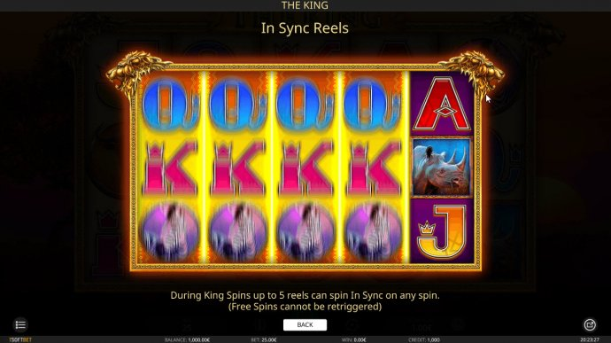 No Deposit Casino Guide image of The King