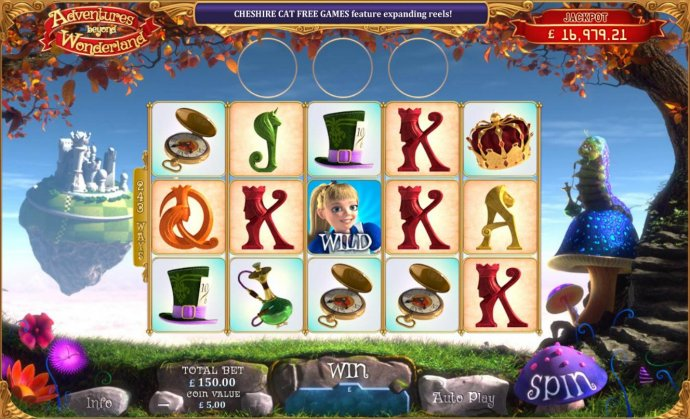 Main game board featuring five reels and 243 ways to win with a progressive jackpot max payout. by No Deposit Casino Guide