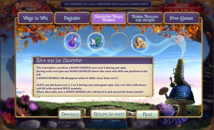 No Deposit Casino Guide image of Adventures Beyond Wonderland