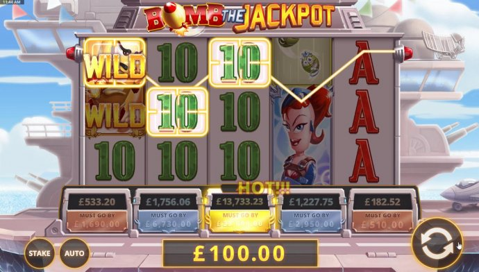 Bomb the Jackpot by No Deposit Casino Guide