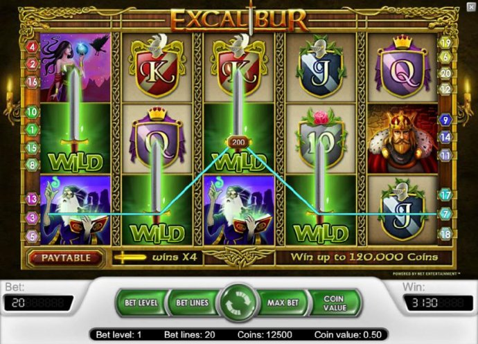 Images of Excalibur