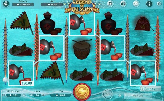 No Deposit Casino Guide image of Legend of Qu Yuan