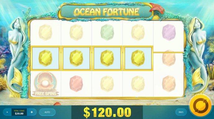 No Deposit Casino Guide image of Ocean Fortune