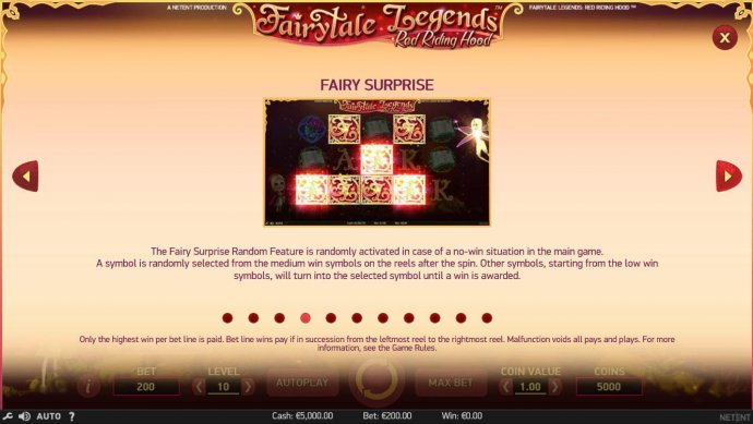 No Deposit Casino Guide - Fairy Surprise Game Rules