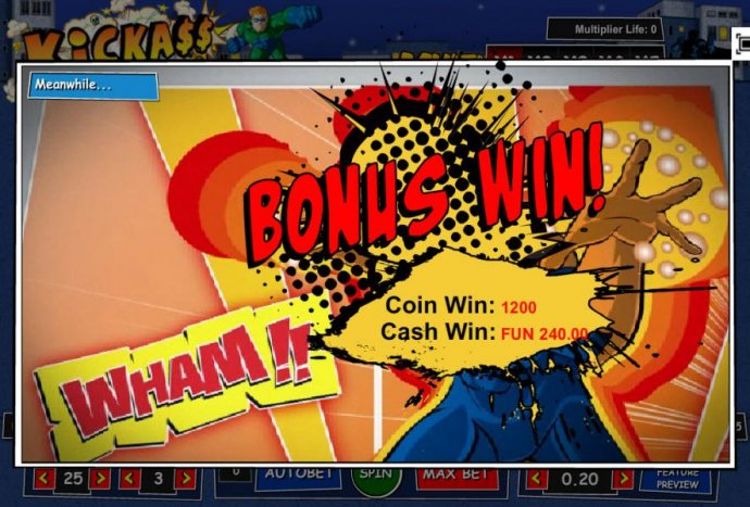 No Deposit Casino Guide - Bonus Win! 1200 coins paid out