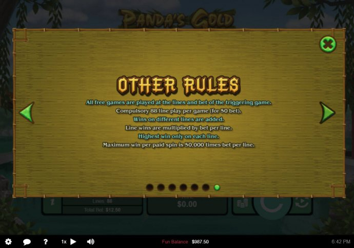 Panda's Gold by No Deposit Casino Guide