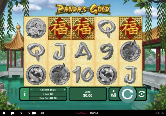 No Deposit Casino Guide image of Panda's Gold